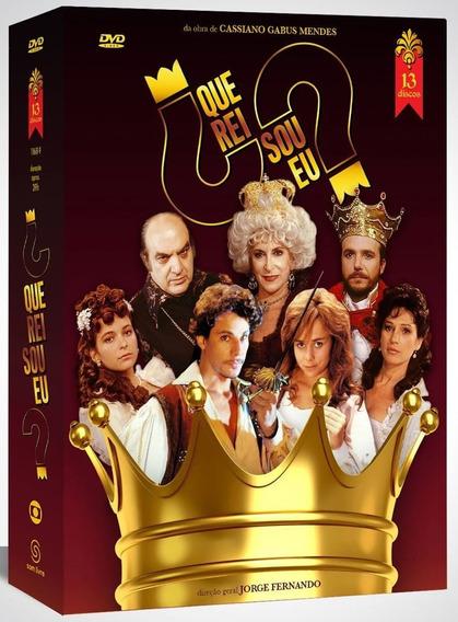 Box Novela Que Rei Sou Eu ? - Com 13 Dvds