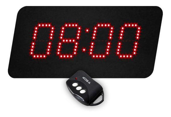 Relógio De Parede Empresas C/ Sirene 96 Horários Programavel