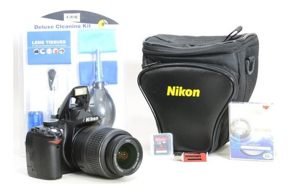 Nikon D3000 + 18-55mm + Brindes 6592261