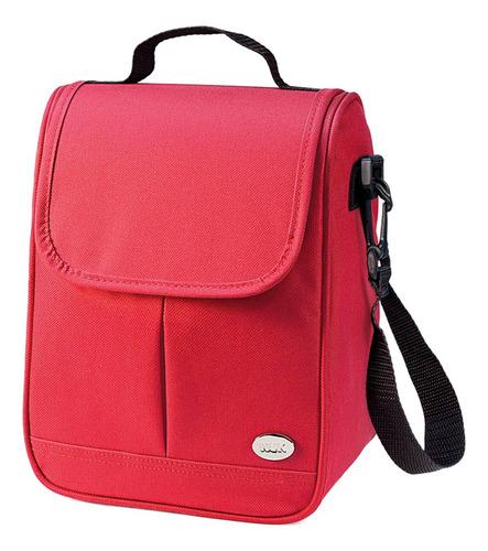 Bolsa Térmica Vermelha Para Mamadeiras E Acessórios - Nuk