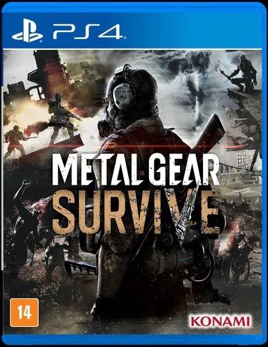 Jogo Metal Gear Survive Ps4 M Física Lacrado