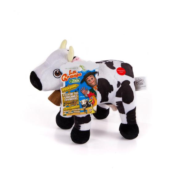 Vaca Lola Peluche 20 Cm La Granja De Zenon (sin Música)