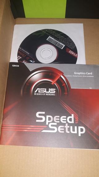 Placa De Video Geforce Gtx 1050 Ti. Incluye Manual Y Cd