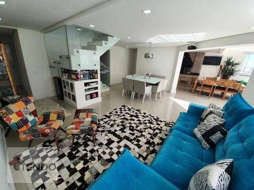 Imagem 1 de 20 de Imob01 - Cobertura 190 M² - 3 Dormitórios - 3 Suítes - Vila Mussolini - São Bernardo Do Campo/sp - Co0064