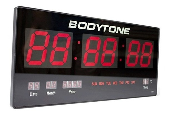 Bodytone Reloj Led De Pared Crossfit Mod.lc