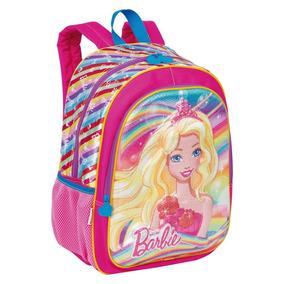 Mochila Grande Personagem Barbie 19x Sestini