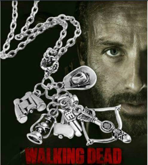Lote De 10 Cadenas De The Walking Dead