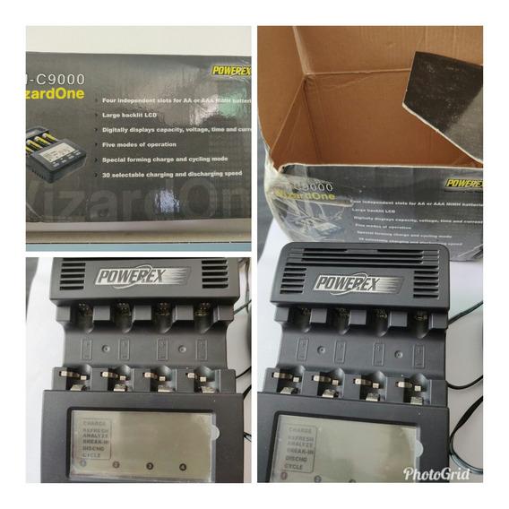Carregador E Analisador De Bateria Aa E Aaa Powerex Mh-c9000