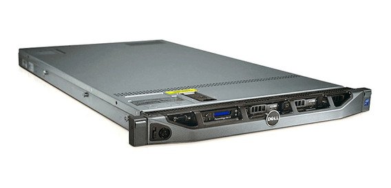 Servidor Dell R610 2x Sixcore X5660 16gb 300gb Hd