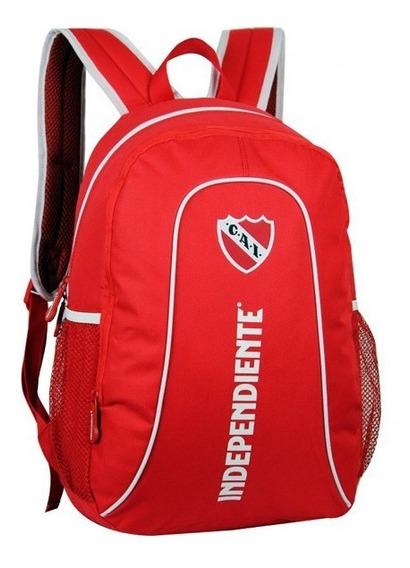 Mochila Deportiva Independiente 17.5p In07 Licencia Oficial