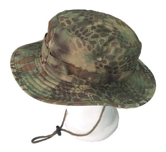 Chapéus Tático Militar Camuflado Ripstop Ajuste Avb Boonie