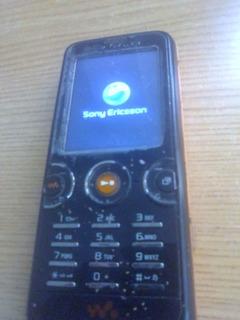 Telefono Sony Ericsson Walkman W610 Telcel