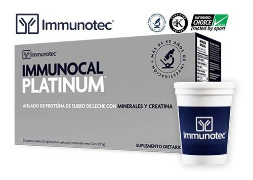 Immunocal Platinum - Caja X 30 Sob - Unidad a $8663
