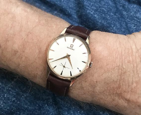 Relógio Ouro 18k Maciço Omega 30 T2- 13 Anos No Merc. Livre