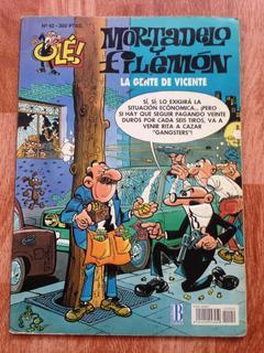 Comics Mortadelo Y Filemón. La Gente De Vicente. N° 42