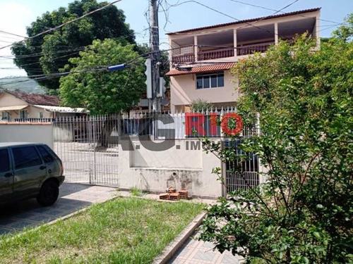 Imagem 1 de 15 de Casa Linear 3 Quartos - Jardim Sulacap 142 Metros Em Centro Terreno - Vvca30125
