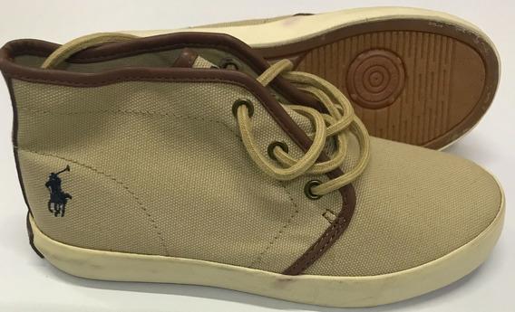 Polo Ralph Lauren Botines Talla Us 3 22 Cms Niño Zapatos