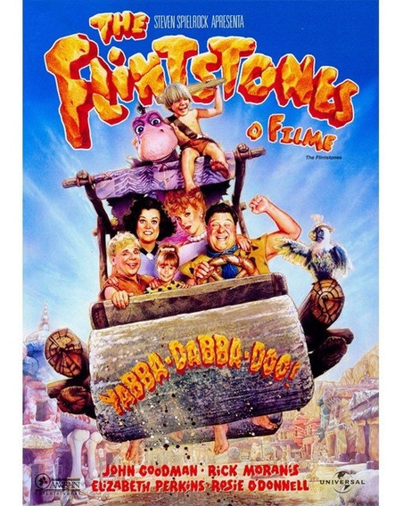 Dvd The Flintstones O Filme - Original - Novo - Lacrado