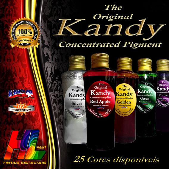 Kandy Original Usa Concentrado 2 Unid + 3x 50gr Metal Flakes