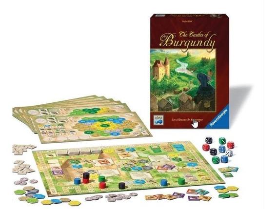 Board Games - The Castles Of Burgundy Português