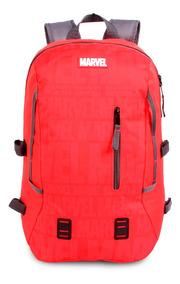 Mochila Sport Marvel Vermelho - Marvel - Original