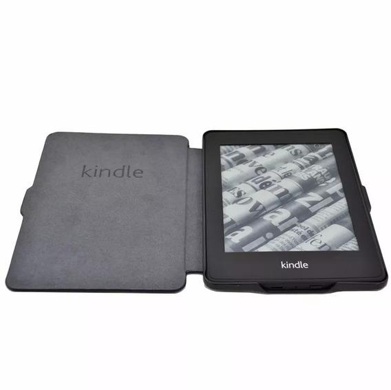 Capa Kindle Paperwhite Luxo Couro