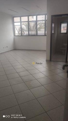 Sala Para Alugar, 37 M² Por R$ 1.200/mês - Jardim Do Mar - São Bernardo Do Campo/sp - Sa0483