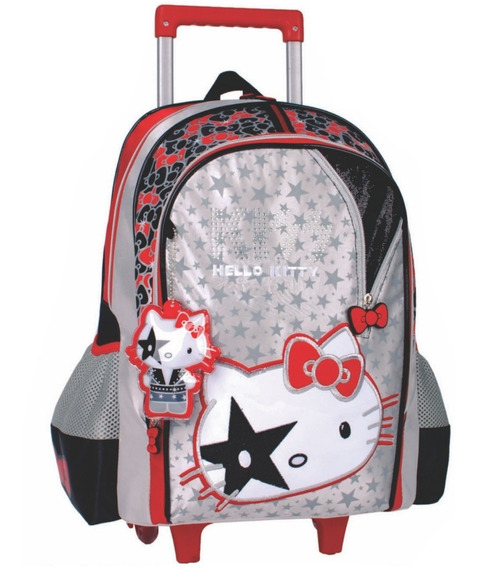 Mochila C/ Carrinho Hello Kitty- Luxcel - Ic30252hk