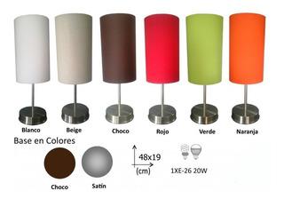 Lámpara De Buro Estilo Modernista Una Luz Pantalla De Tela