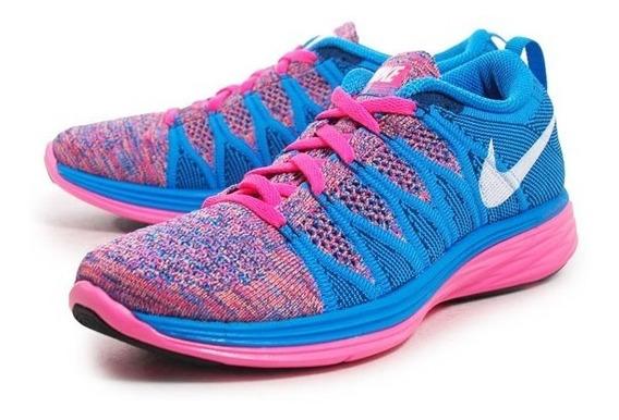 Tenis Nike Flyknit Lunar 2 Para Dama