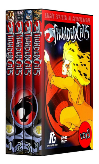 Thundercats - Dublado - Completo - 10 Dvds