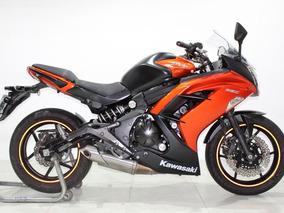 Kawasaki Ninja 650 R 2014 Laranja