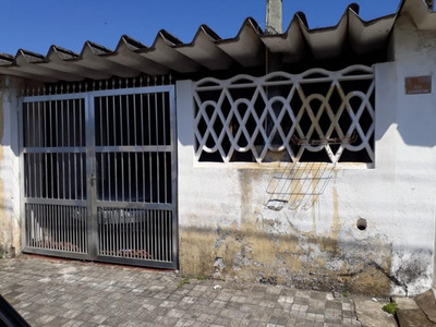 Casa Em Vera Cruz, Mongaguá/sp De 80m² 2 Quartos À Venda Por R$ 180.000,00 - Ca204665