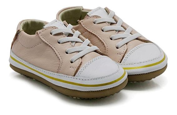 Sapato De Bebê Niño Shoes Tênis Alice Rosa