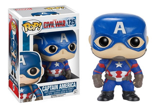 Funko Pop 125 Capitan America Marvel Civil War