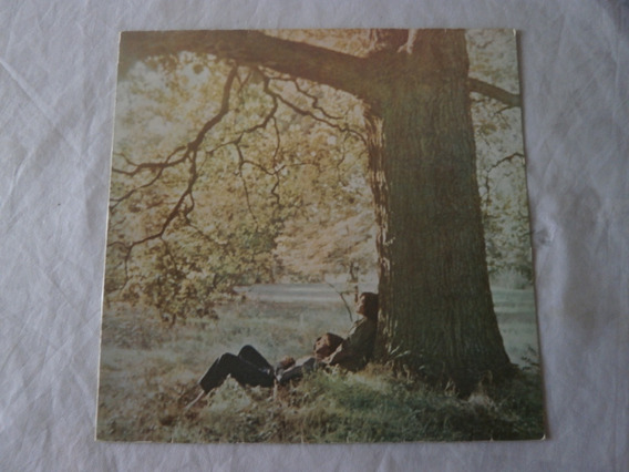 Lp John Lennon 1970 Plastic Ono Band, Vinil Seminovo Raro