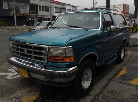 Ford Bronco Xlt 1993 At V8