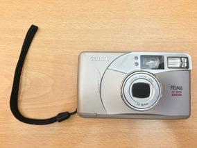 Câmera Canon Prima Bf-800 Zoom - Raridade Para Colecionador