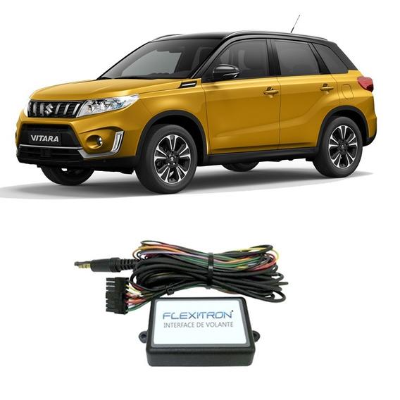 Interface Controle Volante Suzuki Sx4 (fiv-swc)