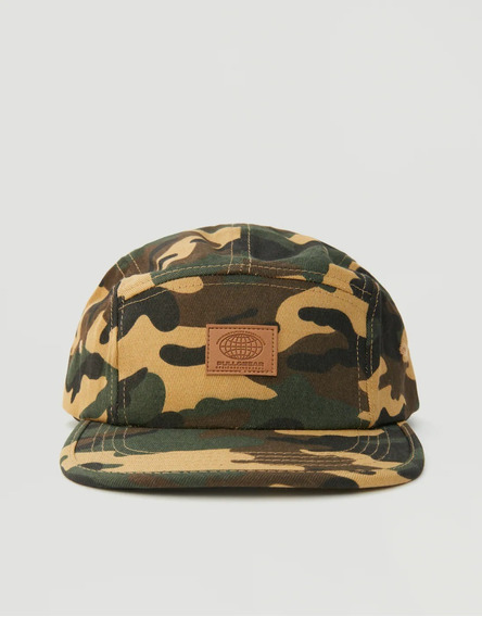 Gorra Pull And Bear Paneles Cammo