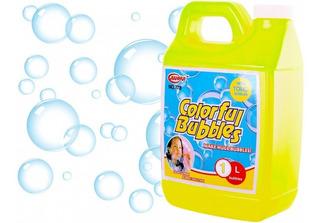 Bidon De Burbujas Coloridas Liquido Juguete Niños 1 Litro ®