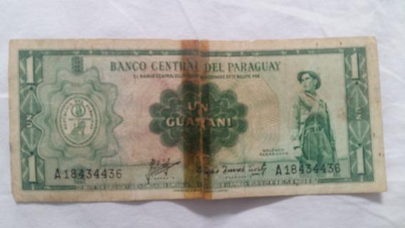 Notas Antigas Paraguai 1 Guarani