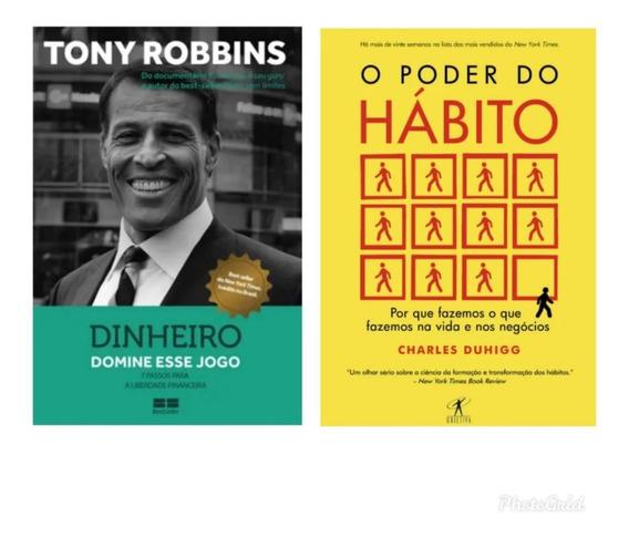 Kit De Livros O Poder Do Hábito+ Dinheiro,domine Esse Jogo
