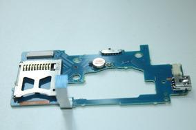 Placa Do Painel Câmera Sony Cyber-shot Dsc-s600 Testada