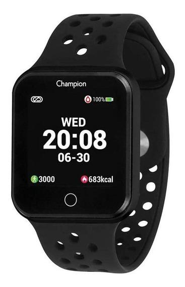 Relógio Champion Preto Smartwatch - Unissex