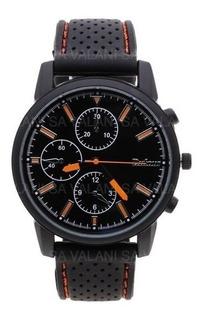 Reloj Dufour Mod 1085 Amarll Ag Oficial Lcal Barrio Belgrano