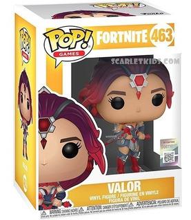 Funko Pop Fortnite Valor 463 Original Fortnite Scarlet Kids