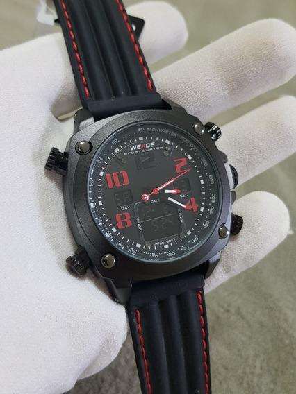 Relogio Weide Militar Esportivo Wh5208 Cronografo No Brasil