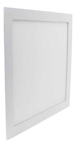 Luminária Plafon Embutir Led 40x40 Cm 32w Qualidade Initial