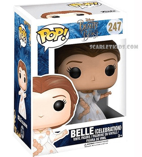 Funko Pop Belle Celebration 247 Original Pop! Scarlet Kids